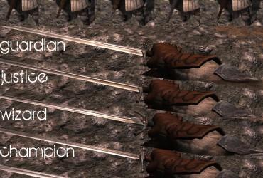 Medieval Swordpack DV