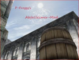 P-Froggys Abfalleimer-Mod