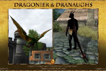 Dragorian and Dranaugh Races DV