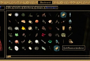 Morrowind-Zeitflussveränderer
