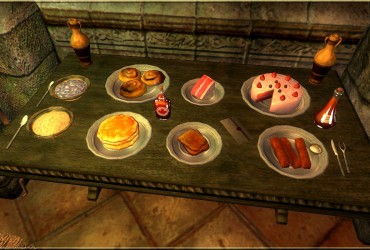 Tchos Breakfast Food / Kontinentalfrühstück