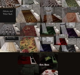 Canopy Beds Modders Pack