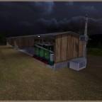Das neue Futterlager
