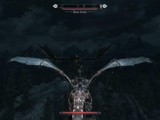 Drachen Kampf