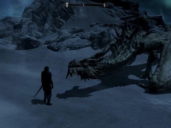 Gespräch mit dem Drachen und Schattenmähne