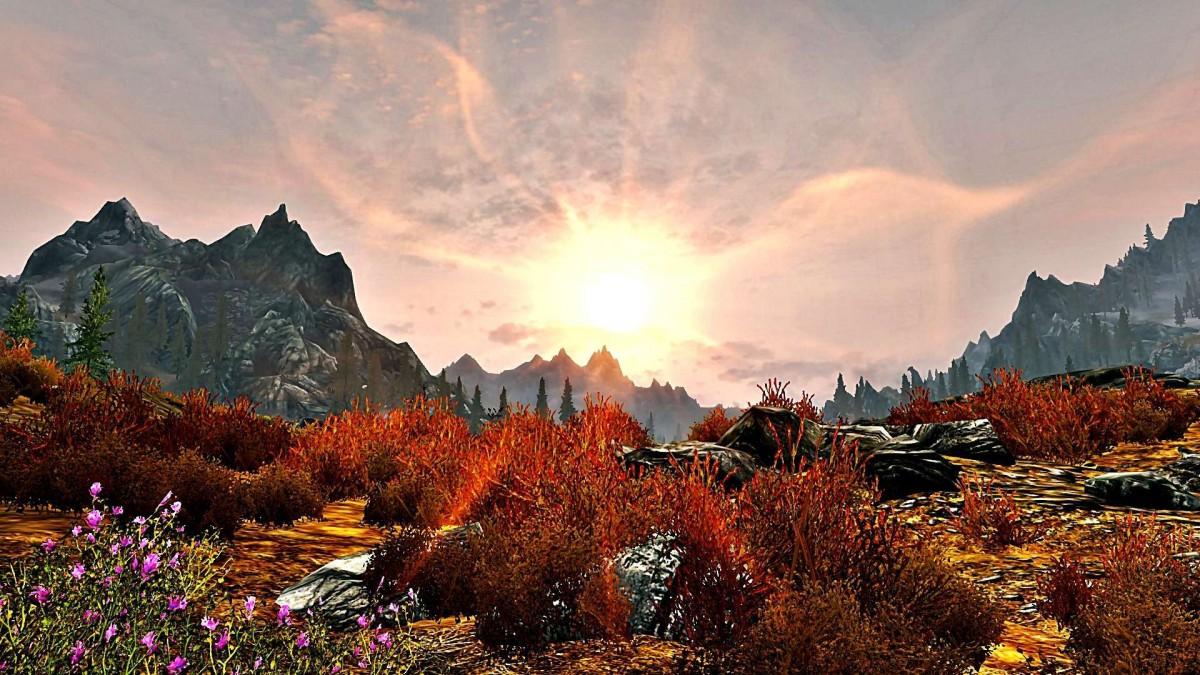 Sonnenuntergang in Himmelsrand